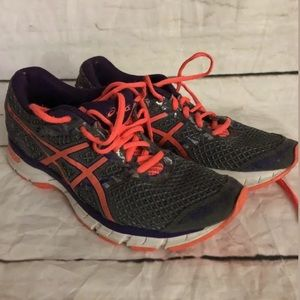 Asics Gel-Excite 4 Sneakers Running Shoes Gray